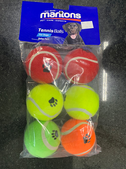 Marltons tennis balls