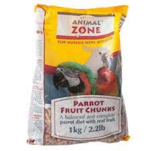 Animal Zone Parrot Fruit Chunks