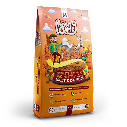 Monty & Me Adult dog food