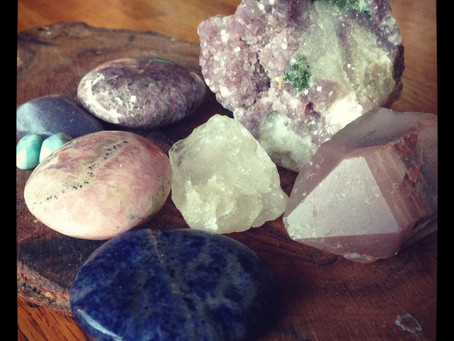 Crystals For Releasing Anxiety, Fear and Worry