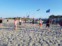 zumba beach party