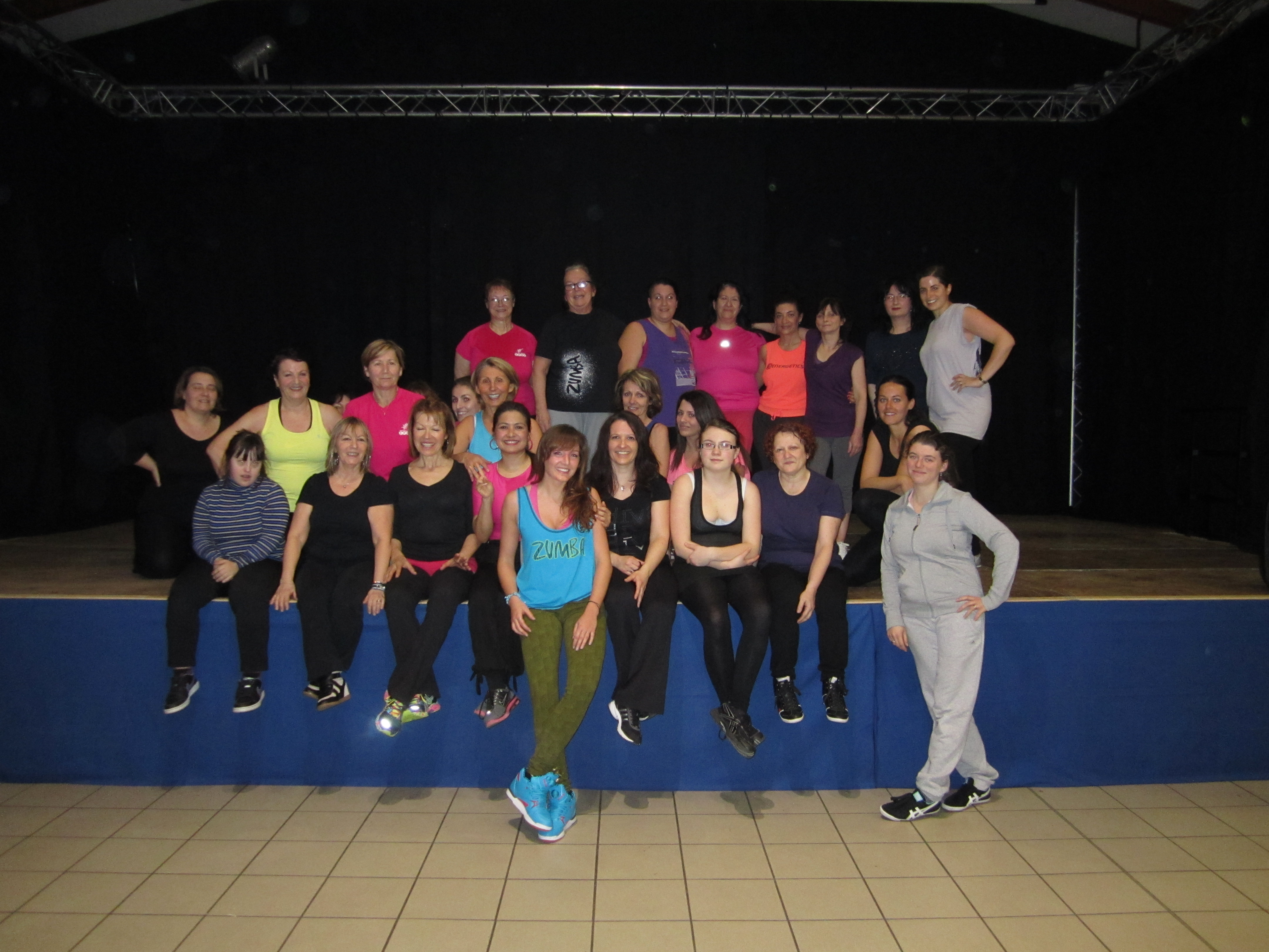 Stage zumba hiver