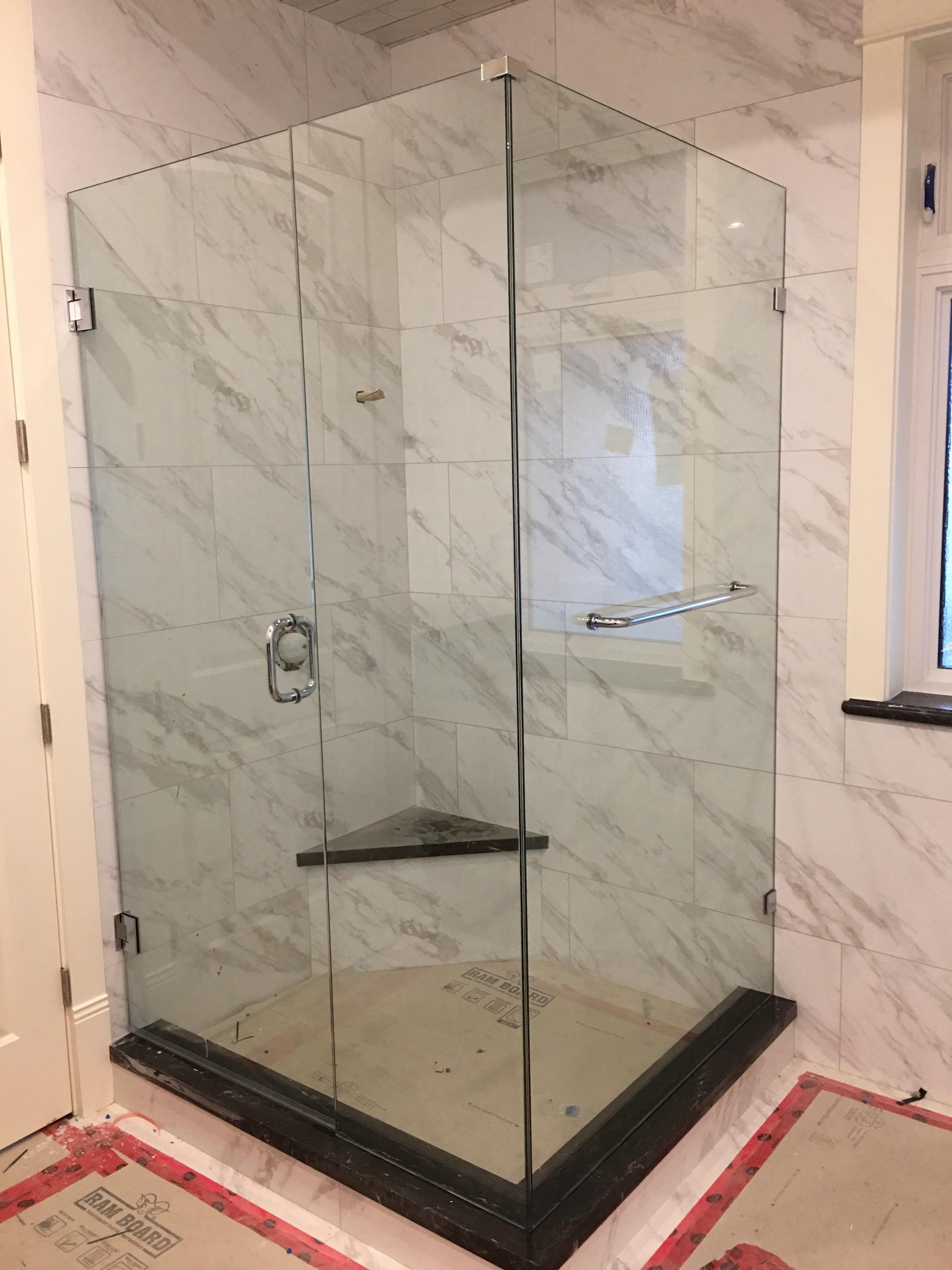 Three-piece shower