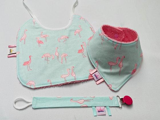 Setje Flamingo's