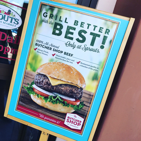 Beef Campaign Signage