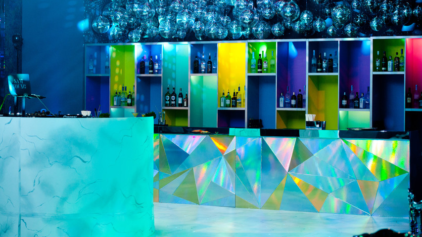 iridesent bar