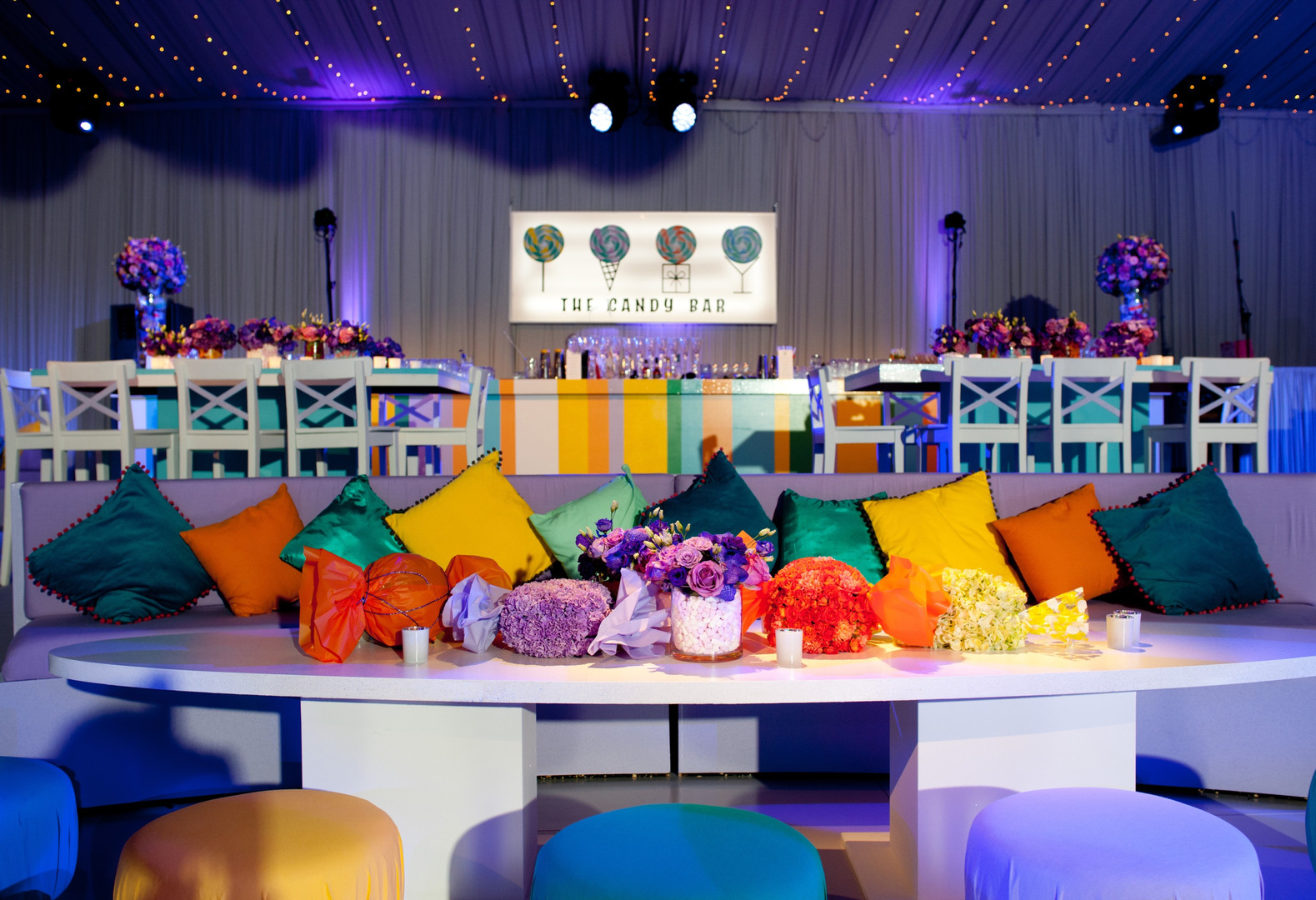 Sweet themed bar