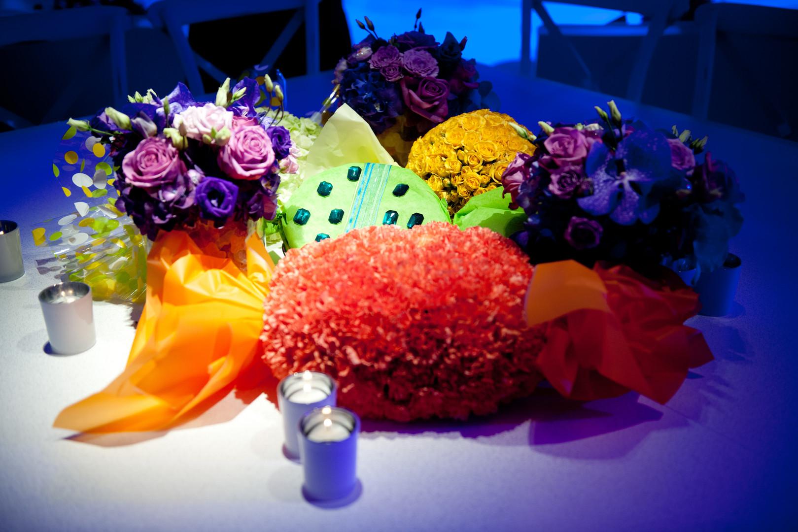 Sweet table installation