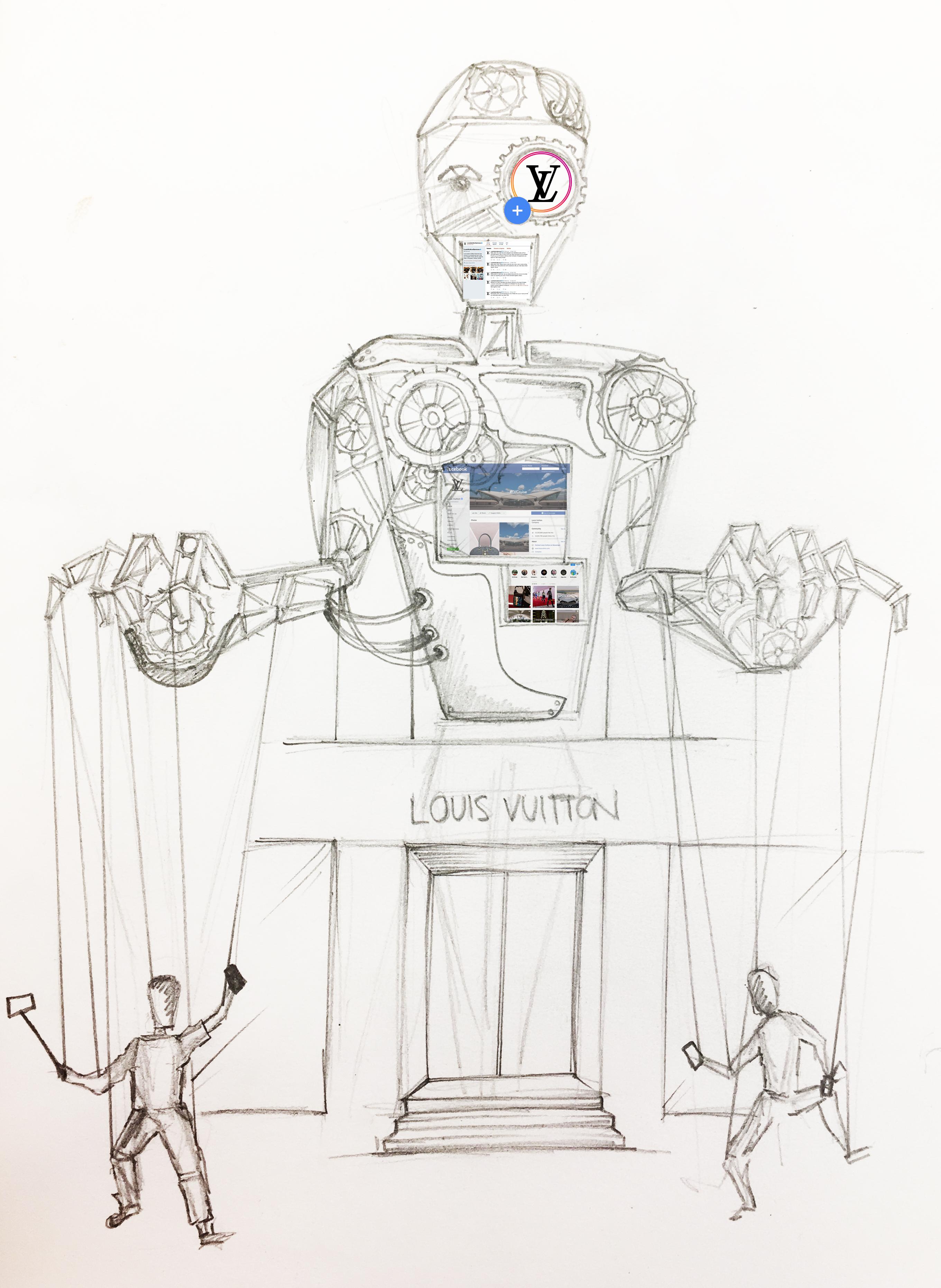 robot puppet sketch 2