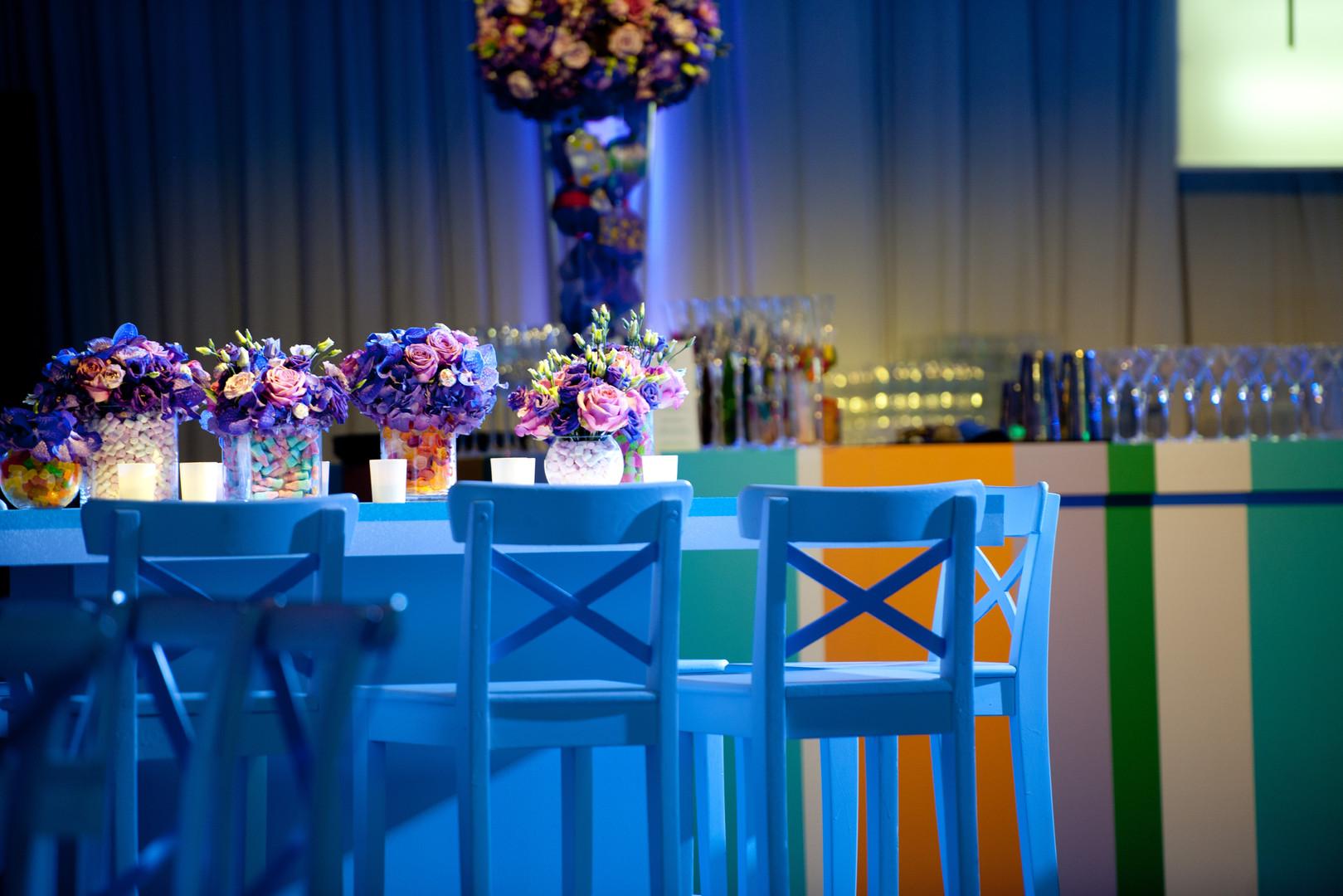 Sweet themed decor