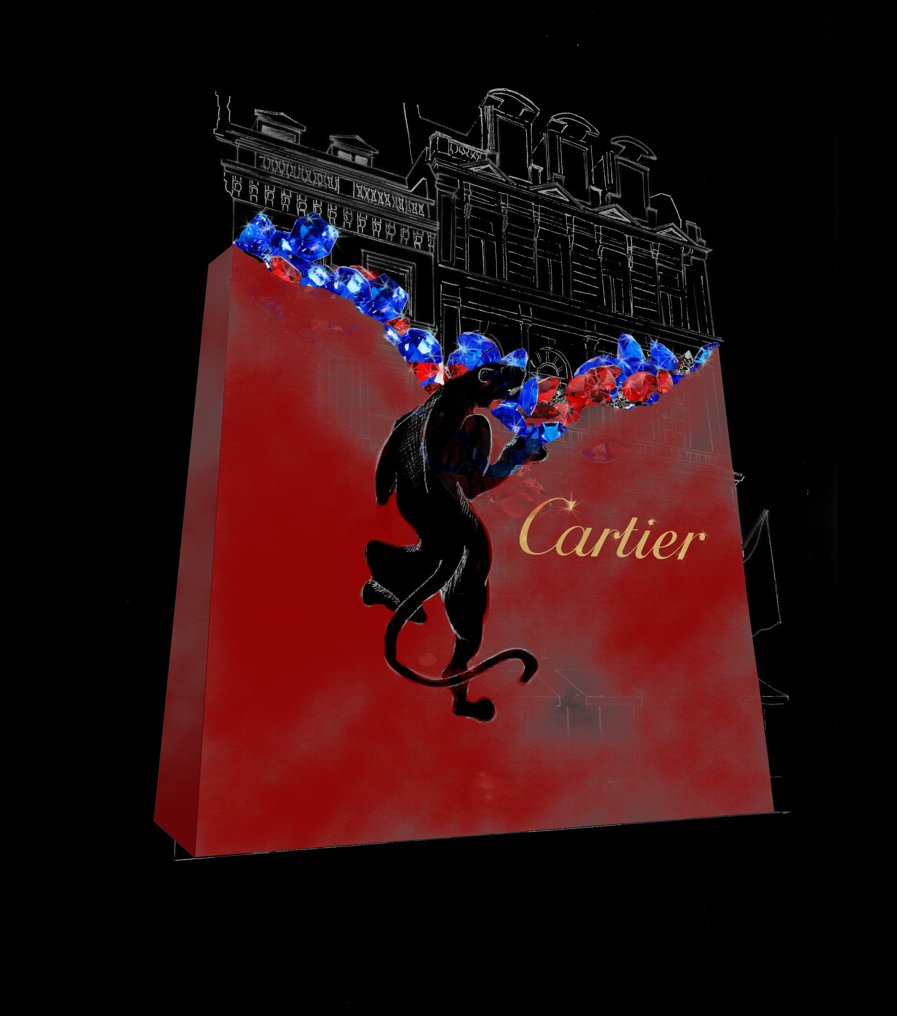 Cartier store front concept 1 OBS