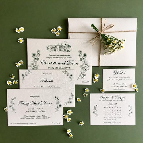 rustic invitation design