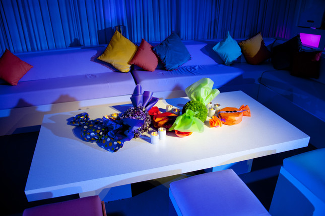 Sweet themed table installation
