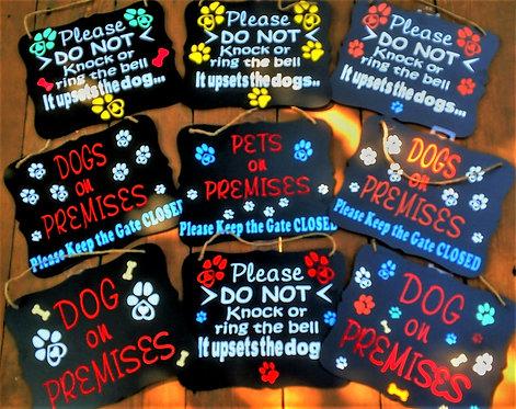Dog Signs!