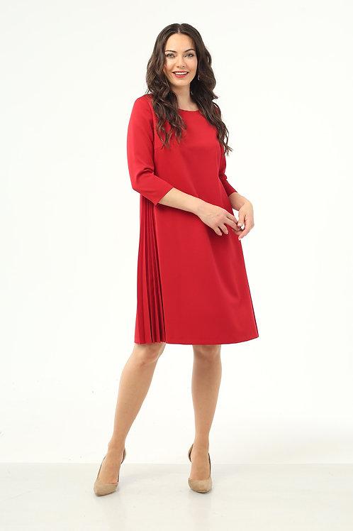 Платье (арт.5425-1223) красный