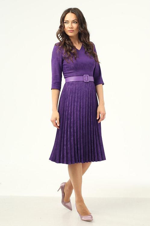 Платье (арт.5416-0877) фиолет