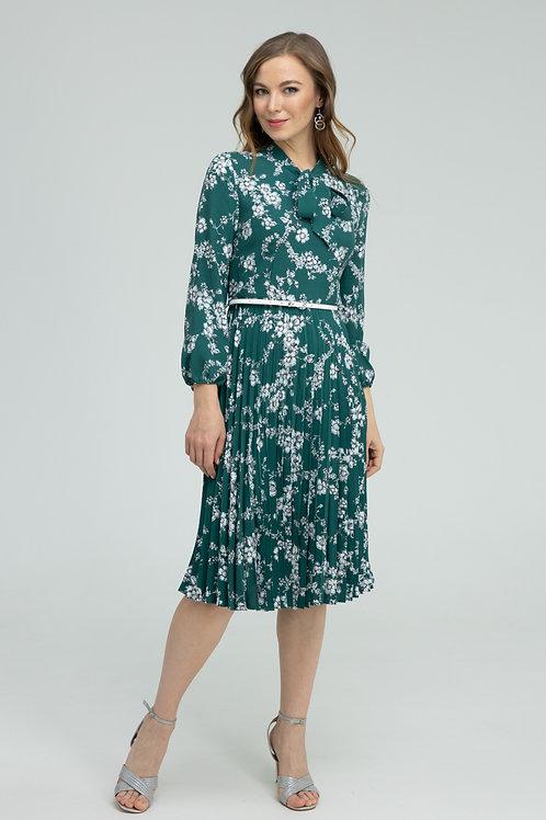 Платье (арт.5415-1684) зеленый