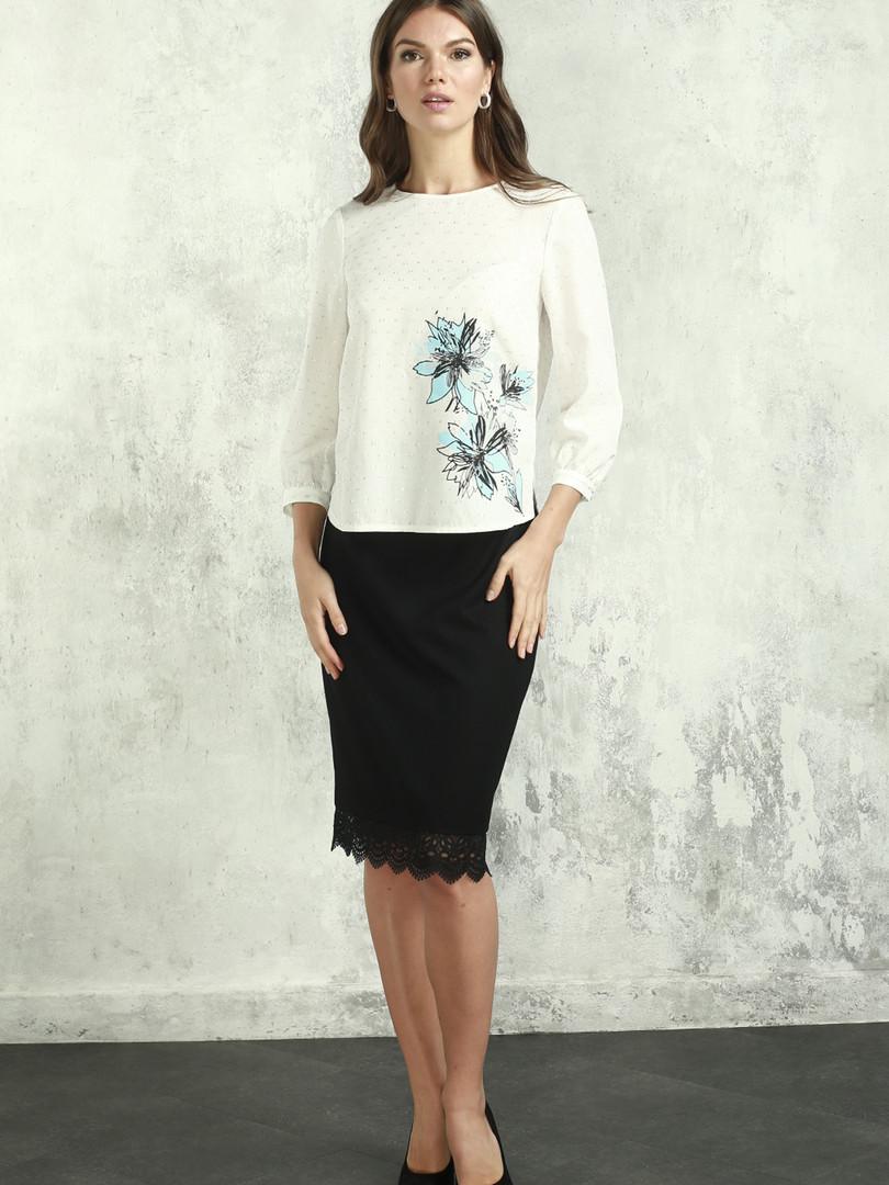 Блуза (арт.4385-0827) былый принт.JPG