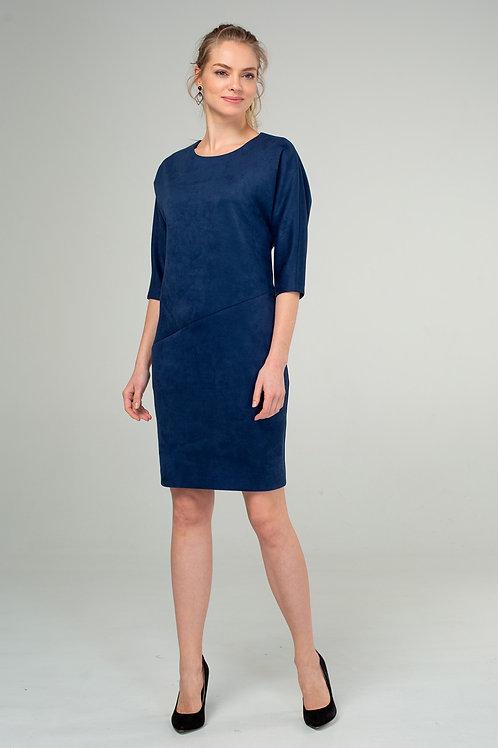 Платье (арт.5392-1781) синий