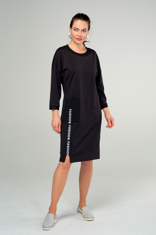 Платье (арт.5393-1798) черный