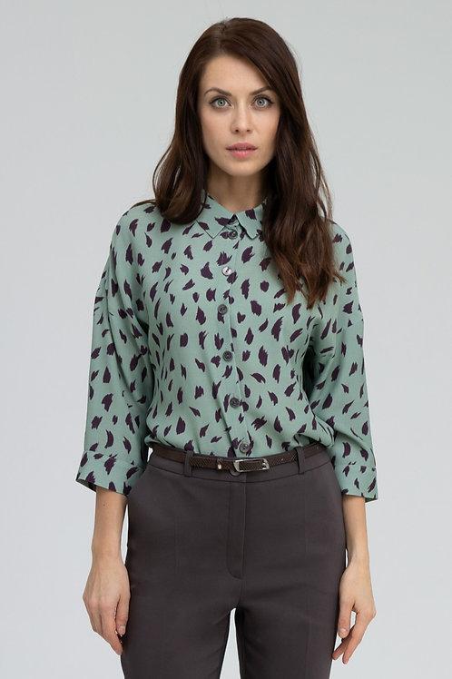 Блуза (арт.4325-1971) олива