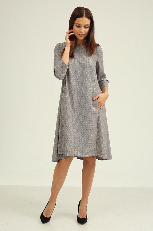 Платье (арт.5394-1827) серый