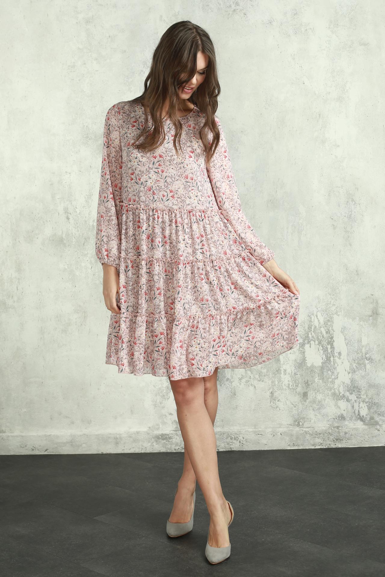 Платье (арт.5385-1914) розовый