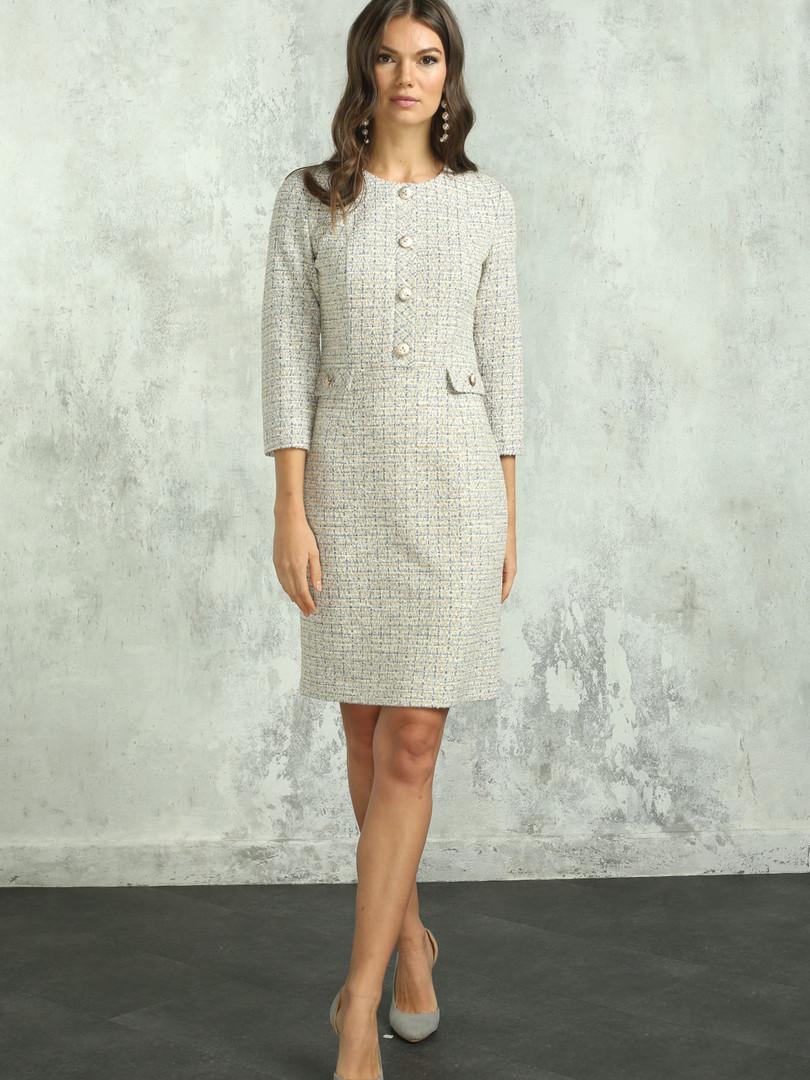 Платье (арт.5430-1899) жемчужный.JPG