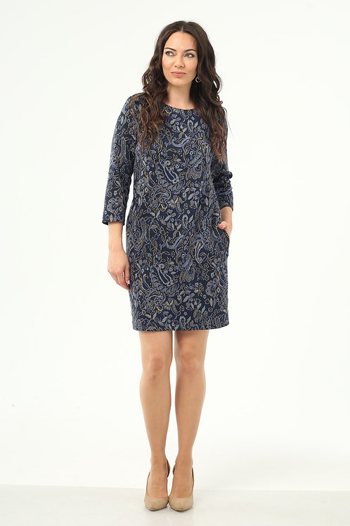 Платье (арт.5263-1900) синий