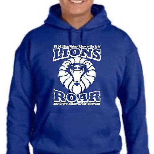 PS 84 Lion Pullover Hoodie