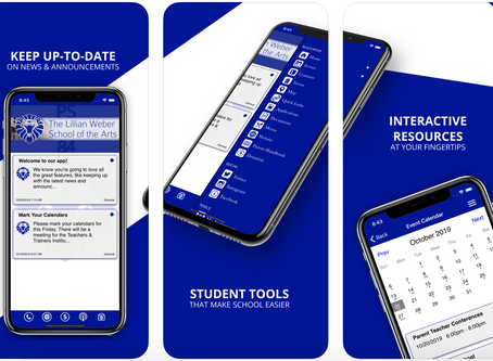 Lillian Weber School of Arts App -