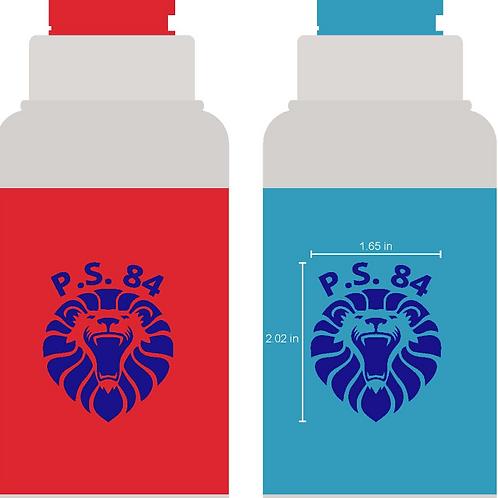 PS 84 Lion 18 oz water bottles