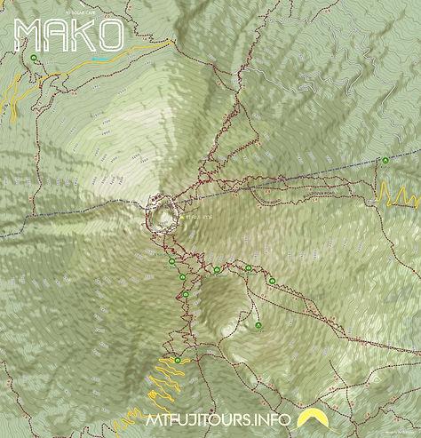 MT FUJI  TRAIL MAP             TOOB SPLO