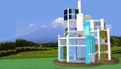 ASAGIRI  ECO TOWER.