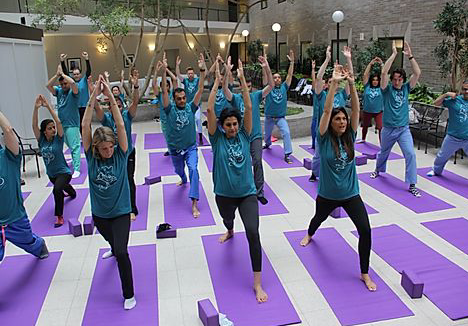 International Yoga Day 2019 Mt. Sinai Hospital