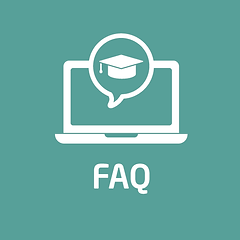 Distance Learning FAQ graphic