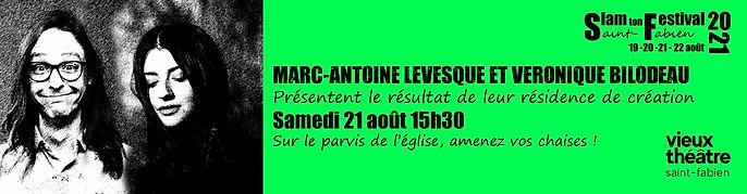 Résidence Marc-Antoile et V. programmati