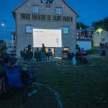 projection extérieur Gala Slam ton Festival