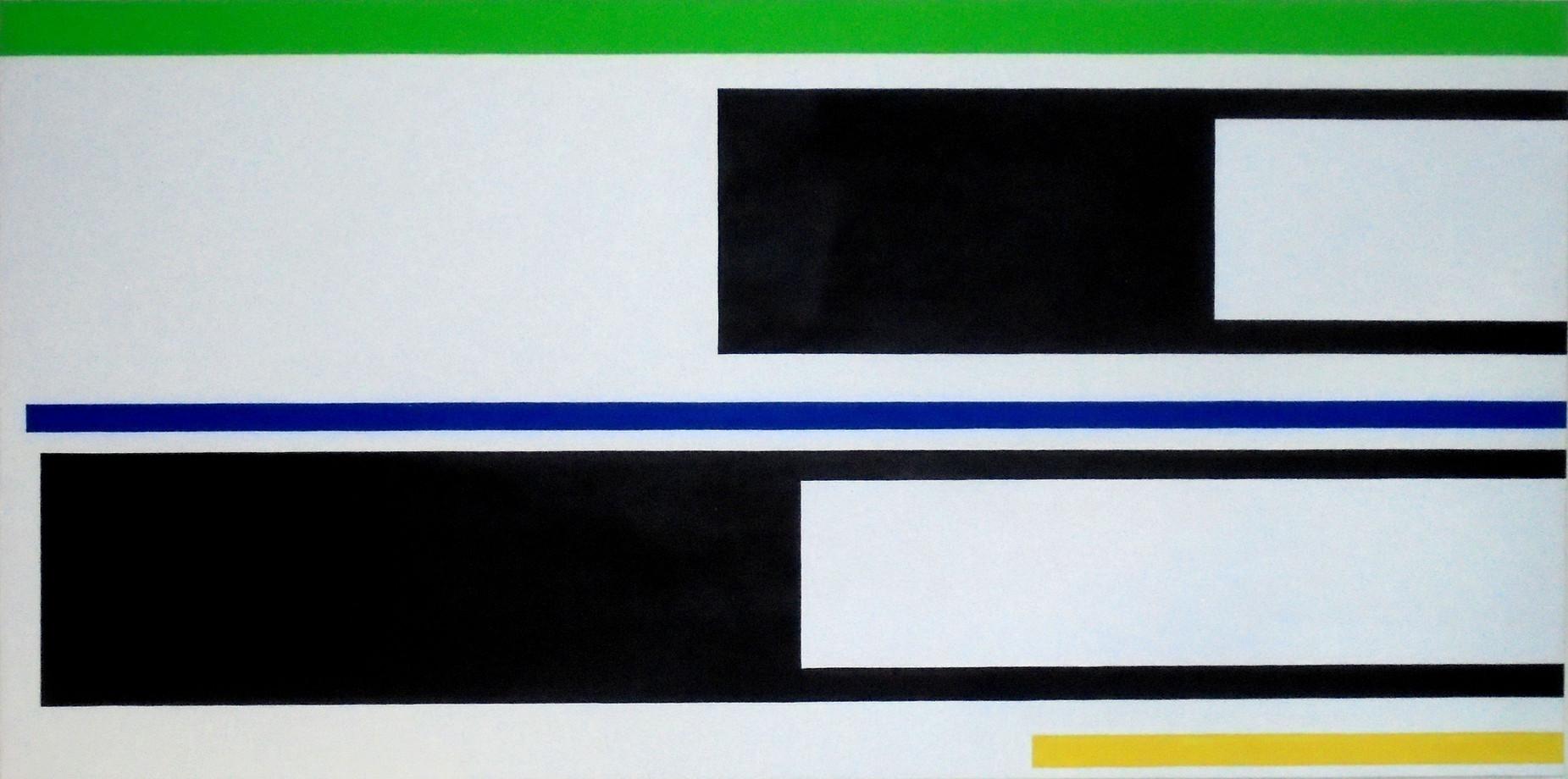 2001, acrylique sur toile, 80x160 cm