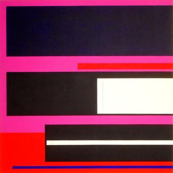 2001, acrylique sur toile, 100x100 cm