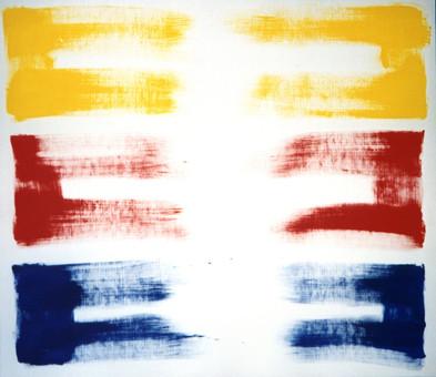 1992-1995, acrylique sur toile, 100x116 cm