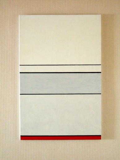 1994, huile sur toile, 100x65 cm