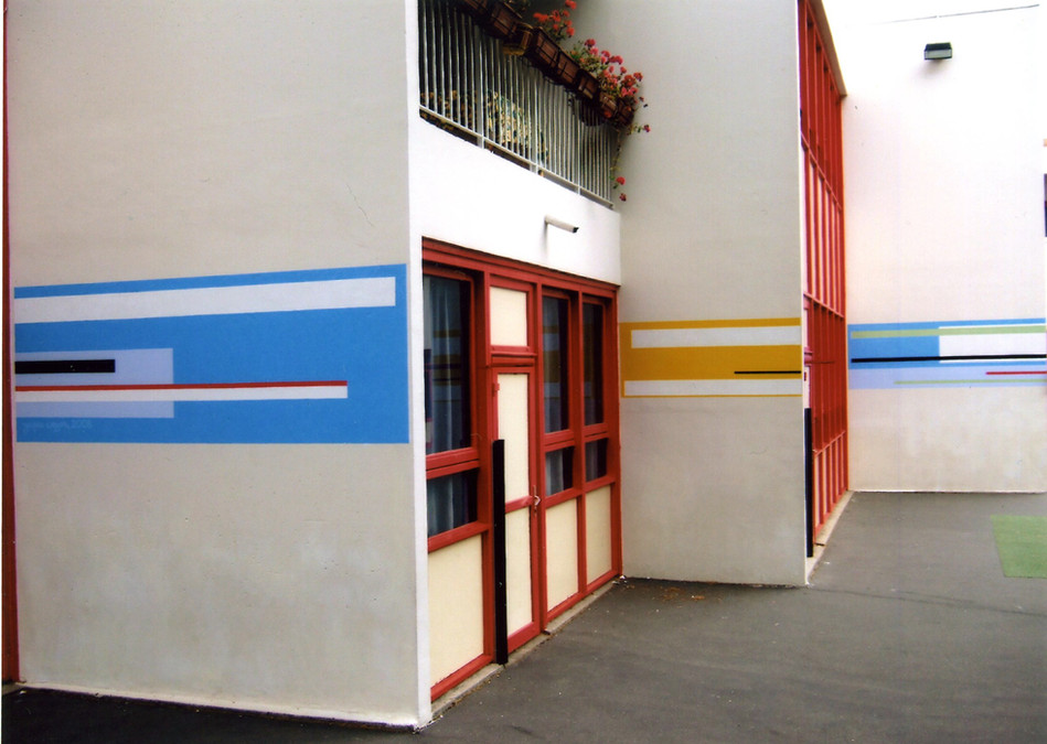 2008, Paris, école Procession