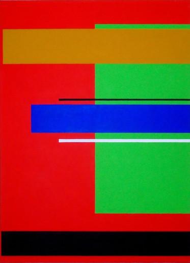 2014, acrylique sur toile, 100x73 cm