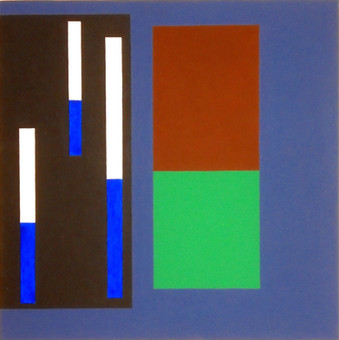 2008, acrylique sur toile, 50x50 cm