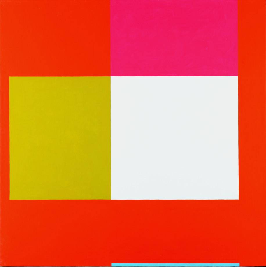 2007, acrylique sur toile, 100x100 cm