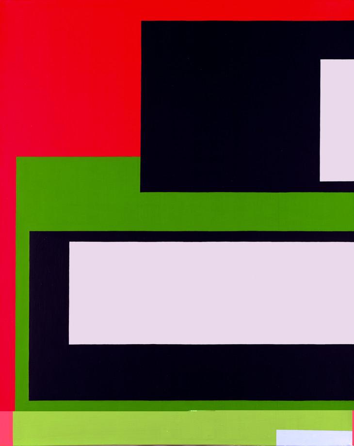 1999, acrylique sur toile, 81x65 cm