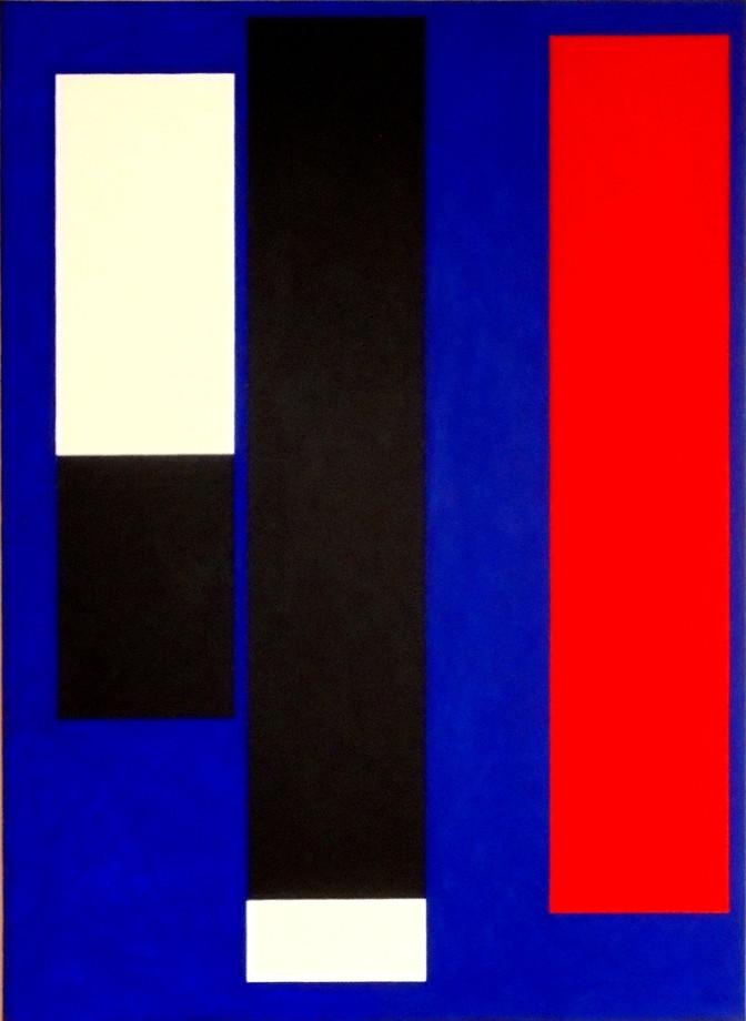 2012, acrylique sur toile, 100x73 cm