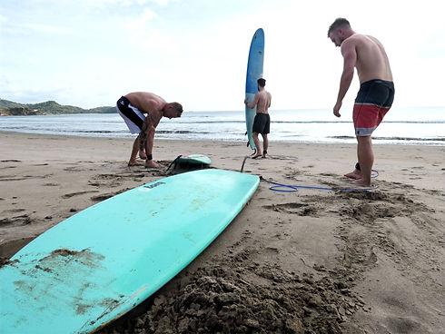 Liquid Sessions Surf Lessons Nicaragua