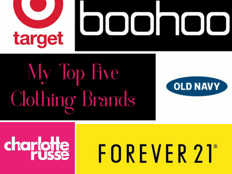 Happy New Year!/ Top 5 Clothing Brands